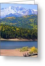 Crystal Lake On Pikes Peak Greeting Card