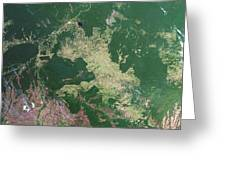 Deforestation In The Amazon Greeting Card