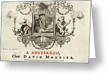 Desiderius Erasmus  Dutch Humanist Greeting Card