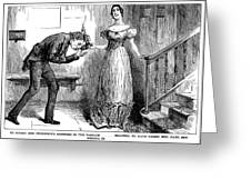Dickens Martin Chuzzlewit Greeting Card