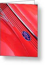 Ford Emblem Greeting Card