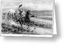 George Armstrong Custer (1839-1876) Greeting Card