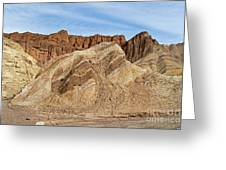 Golden Canyon Death Valley National Park Greeting Card