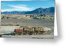 Harmony Borax Works Death Valley National Park Greeting Card