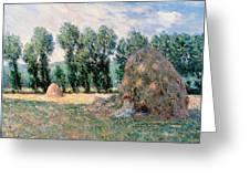 Haystacks Greeting Card