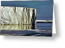 Iceberg In The Ross Sea Antarctica Greeting Card