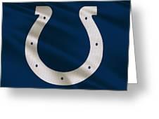Indianapolis Colts Uniform Greeting Card
