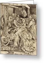 Israhel Van Meckenem German, C. 1445 - 1503 Greeting Card