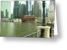 Lake Street Bridge Greeting Card