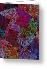 Magic Marbles Marvellous Colorful Pattern Spiral Sparkle Wonderland Kidsroom School Nursary Daycare  Greeting Card