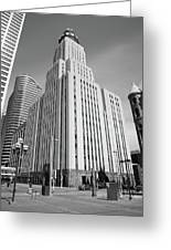 Minneapolis Skyscrapers Greeting Card