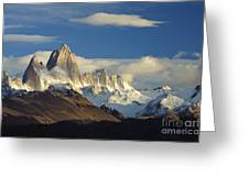 Mount Fitzroy, Argentina Greeting Card