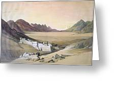 Mount Sinai Monastery Greeting Card