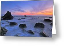 Muir Beach Sunset Greeting Card