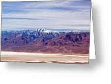 Natural Bridge Canyon Death Valley National Park Greeting Card