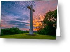 Nelsonville Cross Greeting Card