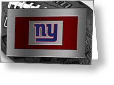 New York Giants Greeting Card
