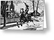 Paul Reveres Ride, 1775 Greeting Card