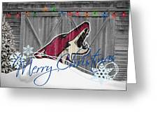 Phoenix Coyotes Greeting Card