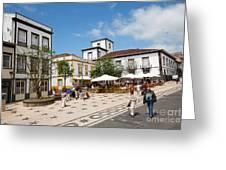 Ponta Delgada Greeting Card
