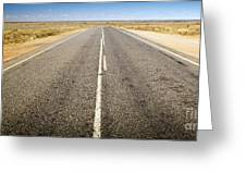 Road Ahead Greeting Card