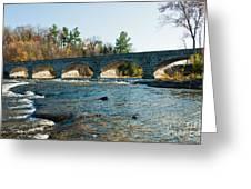 5-span Bridge Greeting Card