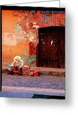 Streets Of Oaxaca Greeting Card