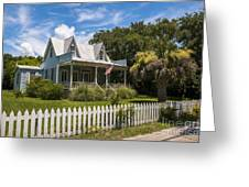 Sullivan's Island Tin Roof Story Book Cottage Greeting Card