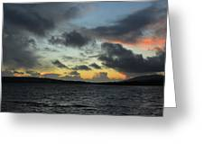 Sunset In Dingle Greeting Card