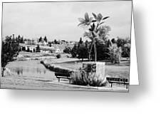 swift current creek Saskatchewan Canada Greeting Card