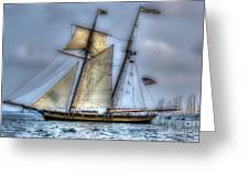 Tall Ships Greeting Card