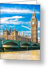 The Big Ben - London Greeting Card