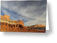The Castle, Capitol Reef National Park Greeting Card