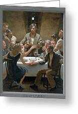 5. The Last Supper / From The Passion Of Christ - A Gay Vision Greeting Card by Douglas Blanchard