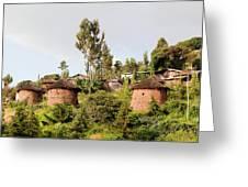 The Rock-hewn Churches Of Lalibela Greeting Card