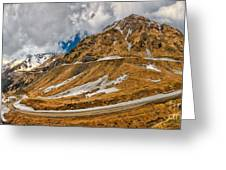 Transfagarasan Highway Greeting Card by Gabriela Insuratelu
