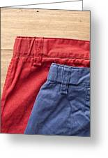 Trousers Greeting Card by Tom Gowanlock