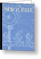 New Yorker May 20th, 2013 Greeting Card