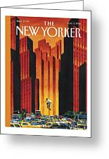 New Yorker August 3rd, 2015 Greeting Card