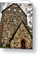 Uppsala Church - Gamia - Uppsala Sweden Greeting Card
