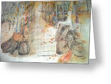 Van Gogh My Way Album Greeting Card