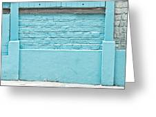 Wall Background Greeting Card