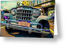 50 Willys Greeting Card
