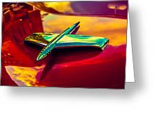 53 Kaiser Hood Ornament Greeting Card