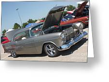 55 Bel Air-8206 Greeting Card