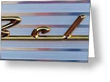 55 Chevy Bel Air Greeting Card