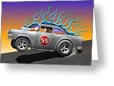 '55 Chevy Greeting Card