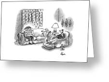 New Yorker March 28th, 2005 Greeting Card