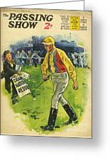 1930s,uk,the Passing Show,magazine Cover Greeting Card