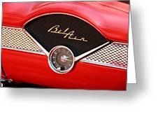 '56 Bel Air Greeting Card